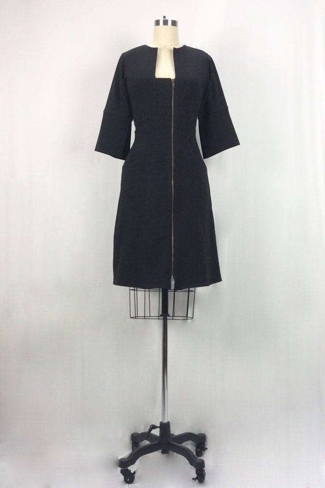 Image of Dorian Dress (Black)