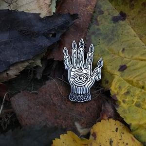 Image of Hand Of Glory Pin