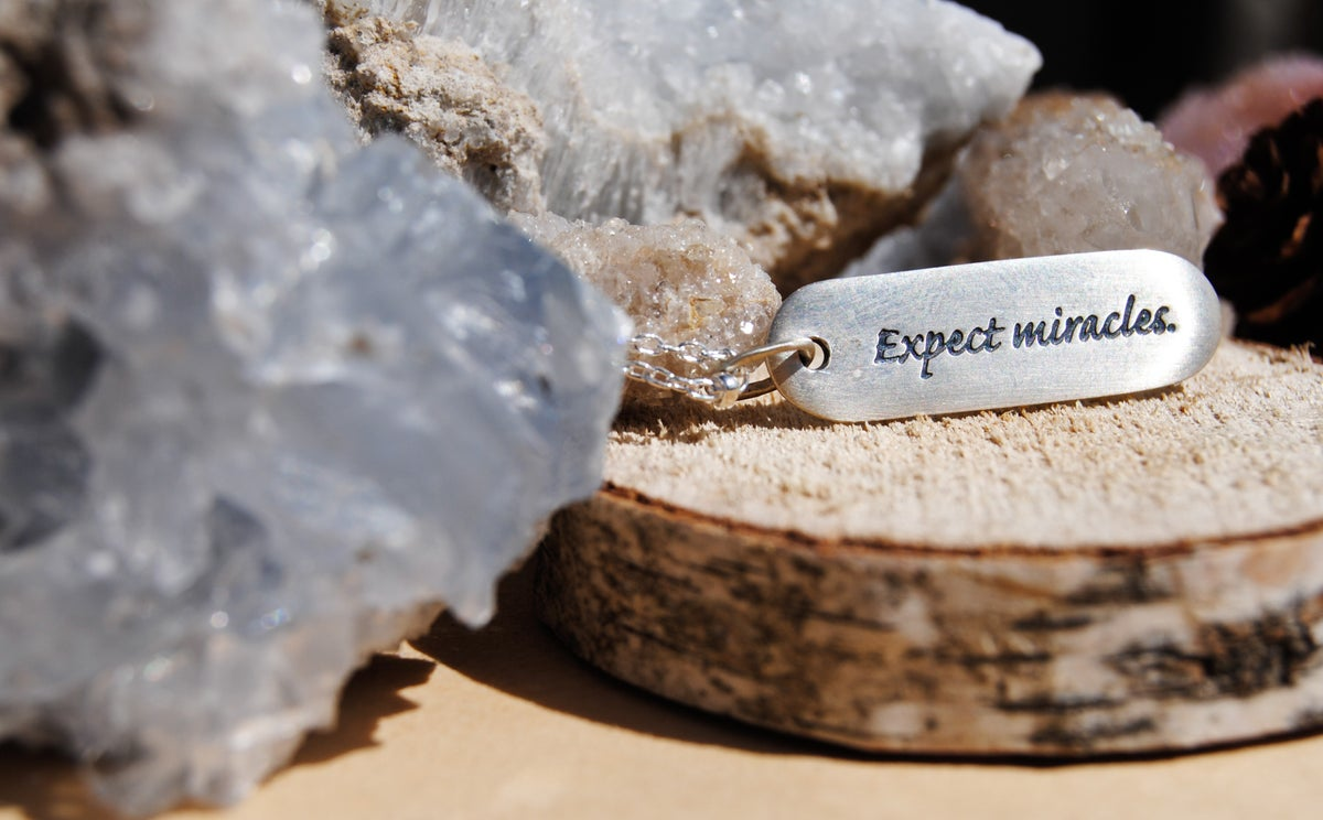 Image of Expect Miracles Necklace