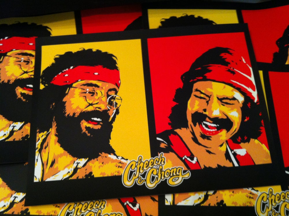 Image of Cheech & Chong - Official merch and tour poster