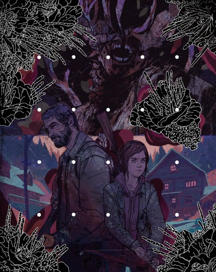 Image of The Last of Us Print by Mike Puncekar
