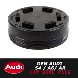 Image of OEM Audi S4 / A6 / Allroad 2.7T Cam Bore Plug