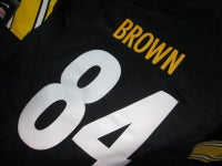 "Nike NFL Pittsburgh Steelers Jersey ""Antonio Brown"" - FAMPRICE.COM by 23PENNY"