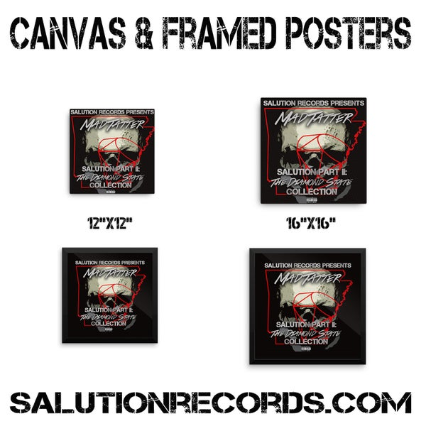 Image of Framed Posters & Canvas'