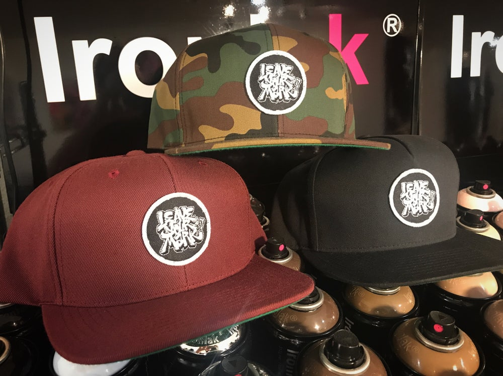 Leave Your Mark Shop Snapback Hat OG Logo