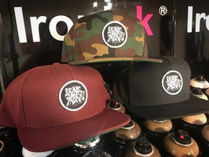 Image of Leave Your Mark Shop Snapback Hat OG Logo