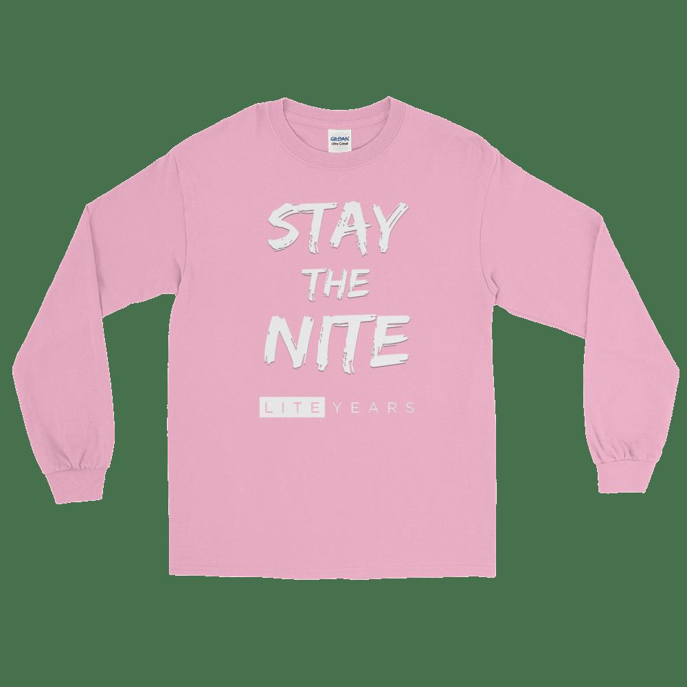"Image of LITEYEARS - ""Stay The Nite"" Long Sleeve WEB EXCLUSIVE"