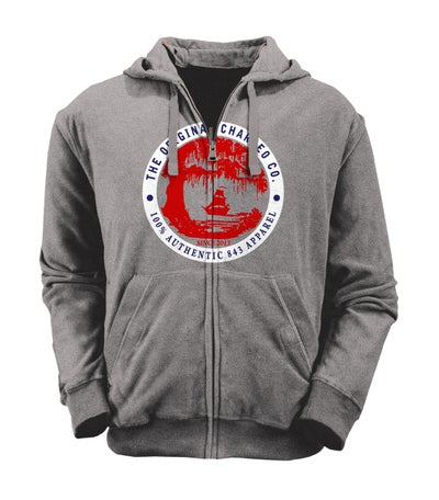 Image of The Original Charleo Landing Zip Hoody