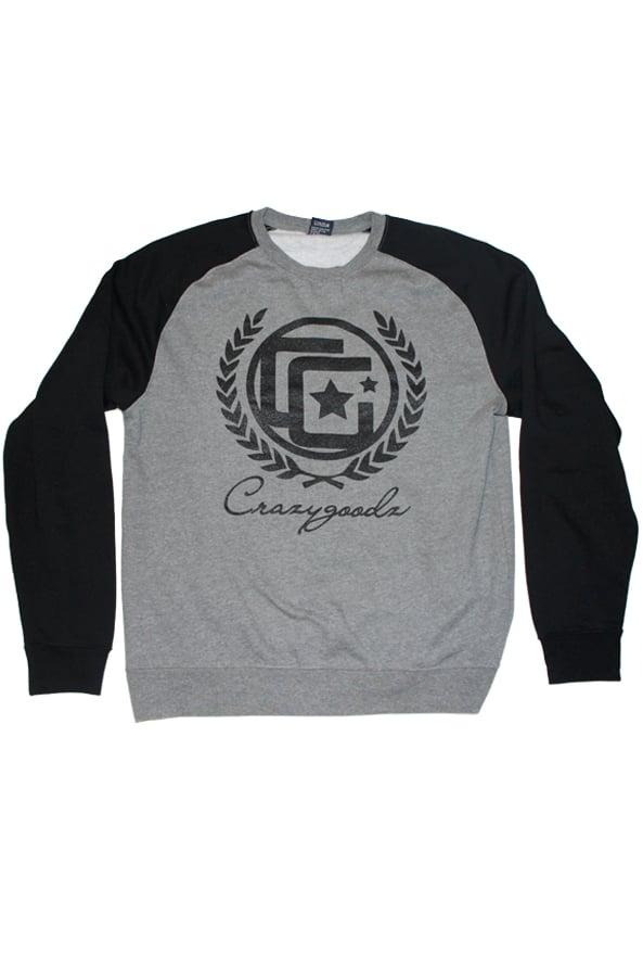 Image of CG Royal Raglan Sweatshirt