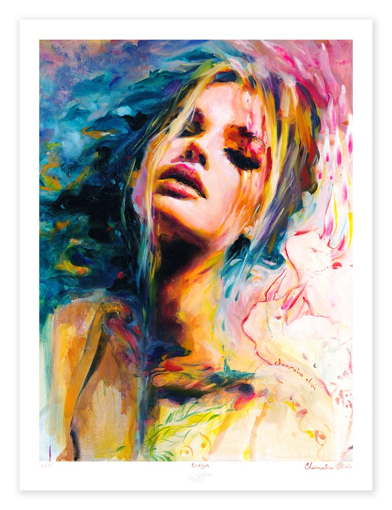 Evelyn Limited Edition Print by Charmaine Olivia ... - photo#13