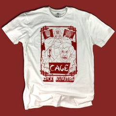 Cage Shirt - Sick Animation Shop