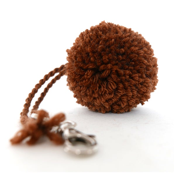 Image of PomPon Charms collection - BRAUN