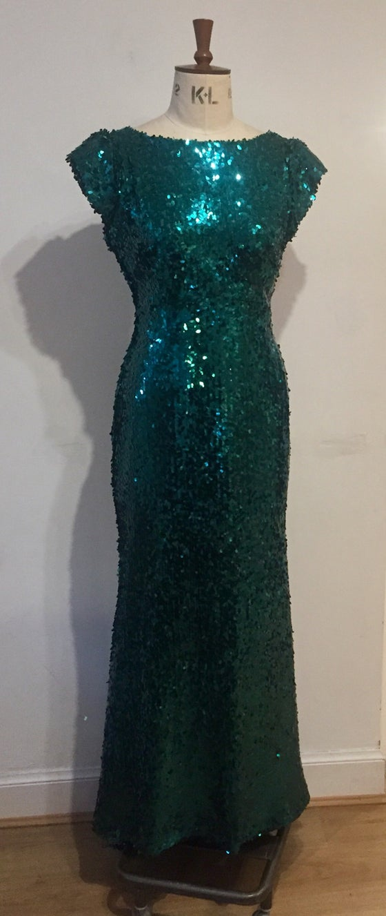 Image of Diana Sequin maxi dress