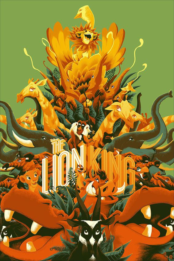 Image of The Lion King (Variant) - Matt Taylor