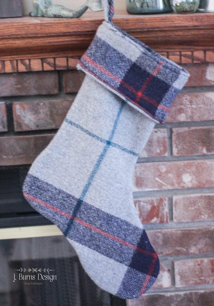 Image of Vintage Wool Stocking