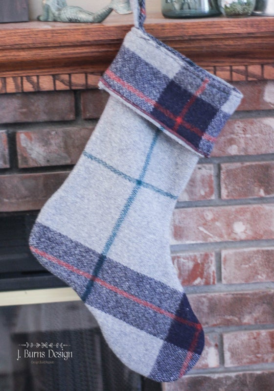 Image of Vintage Wool Stocking