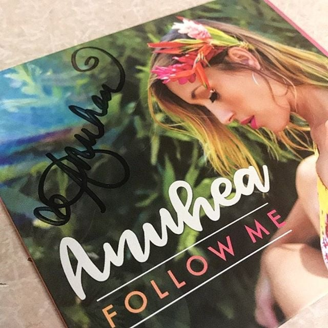 "Image of Autographed ""Follow Me"" album"