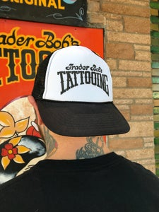 Image of Black & White Rocker Hat