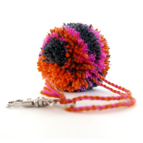 Image of PomPon Charms collection - ORANGE