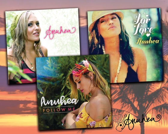 Image of Anuhea's 3 Full Length Albums - Autographed