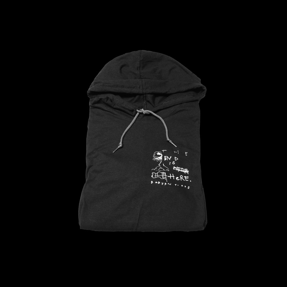 Image of 'The End' Thin Hoodie