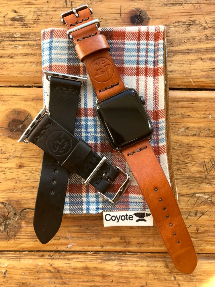 Image of Premium Craftsman Leather Apple iWatch Band/Strap