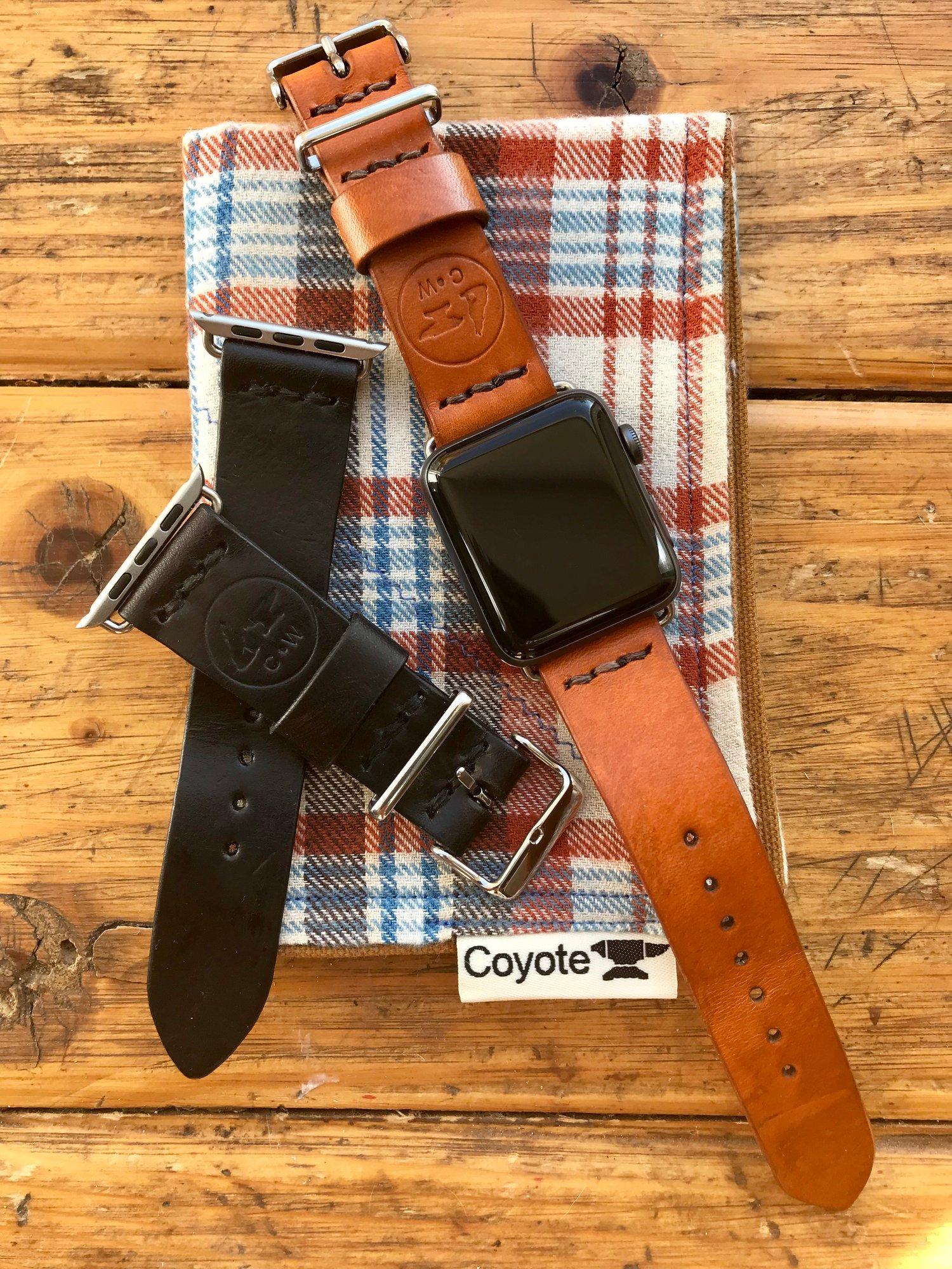 Image of Premium Craftsman Leather Apple iWatch Band/Strap
