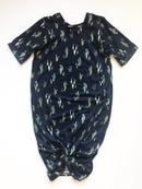 Image 4 of Baby/Girls Navy Cactus Knot Knit