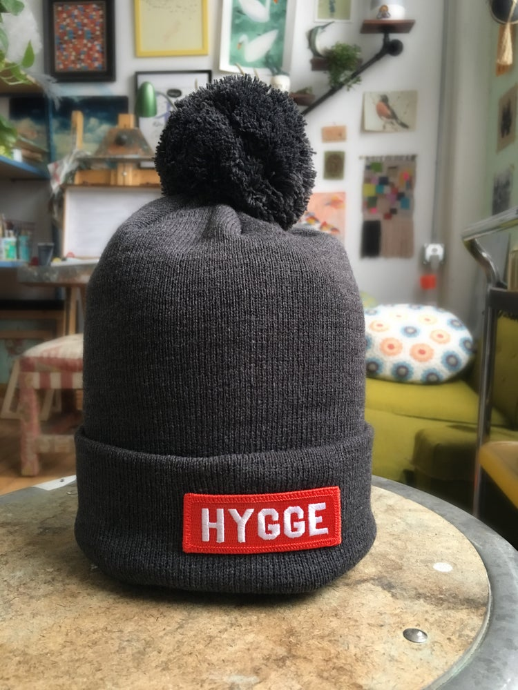 Image of Hygge Pom Beanie