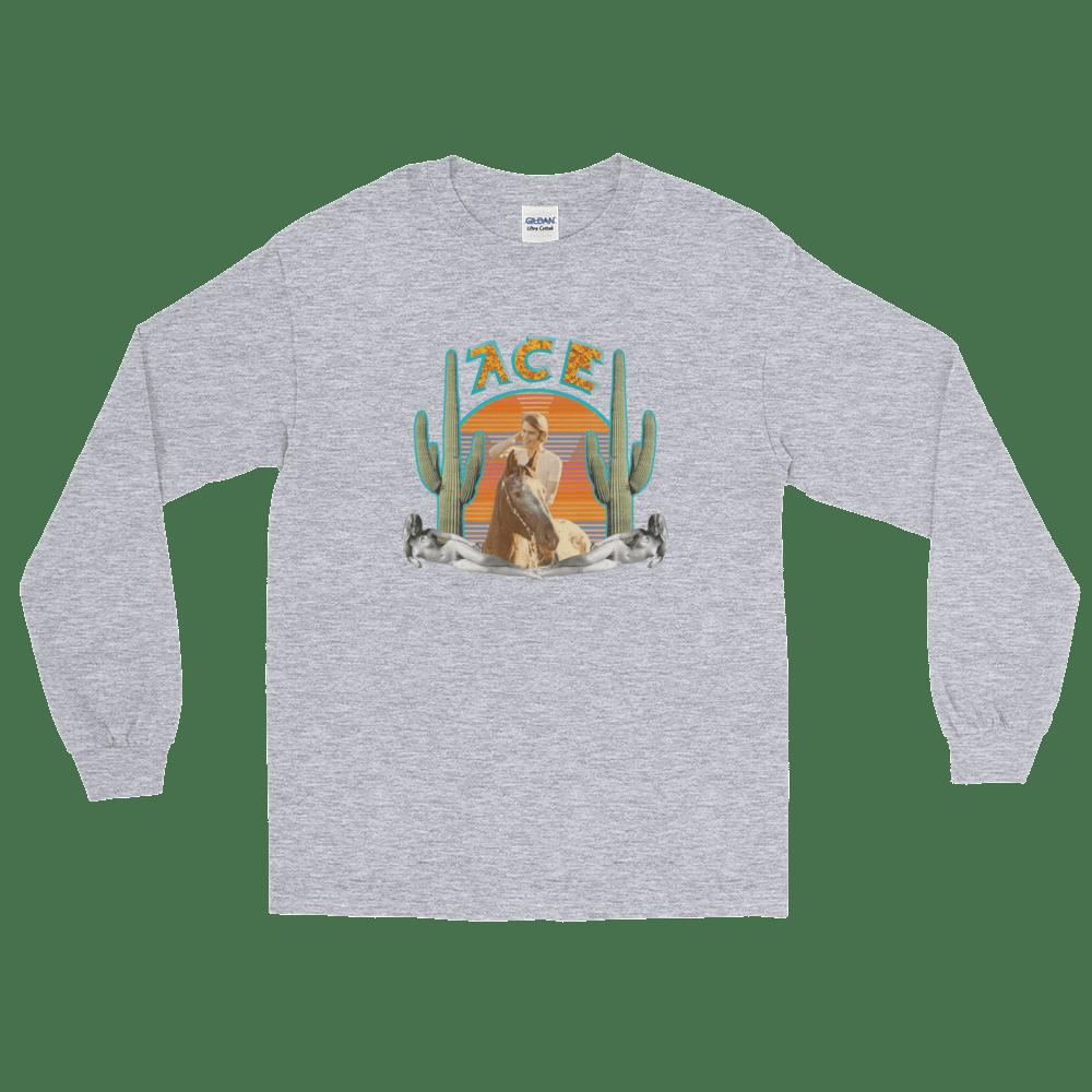 """Ace"" - Men's/Women's Long Sleeve T-Shirt!!!"