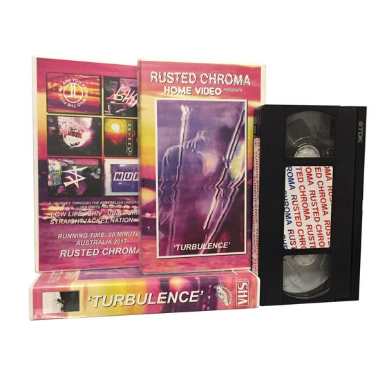 Image of 'Turbulence' VHS