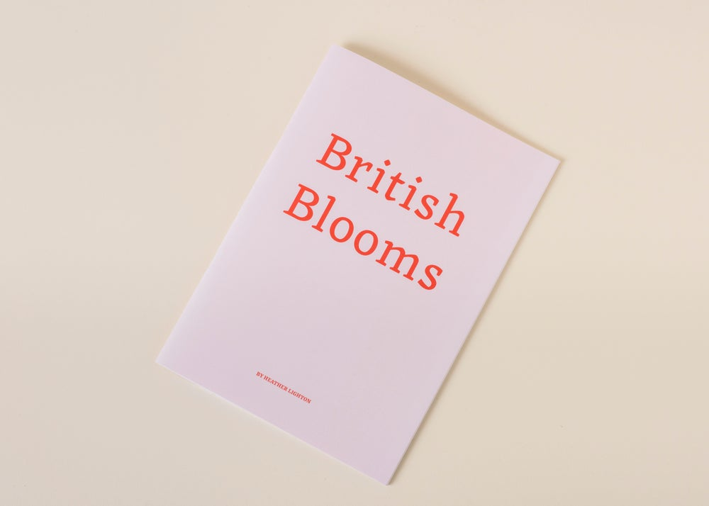 Image of British Blooms Book