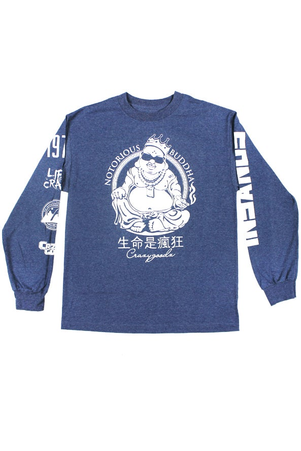 Image of Notorious Buddha Denim Long sleeve