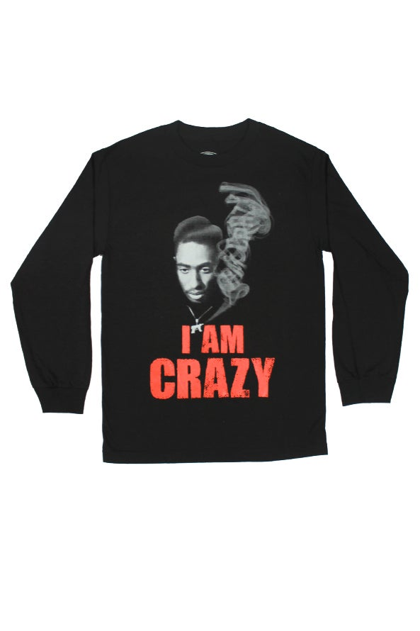 Image of I Am Crazy Bishop Longsleeve Shirt