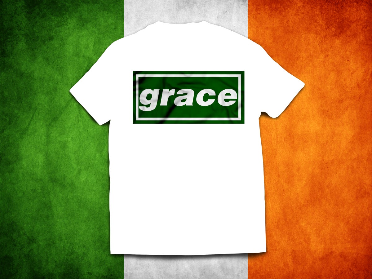 Celtic 'Grace' Irish brand new t-shirts.