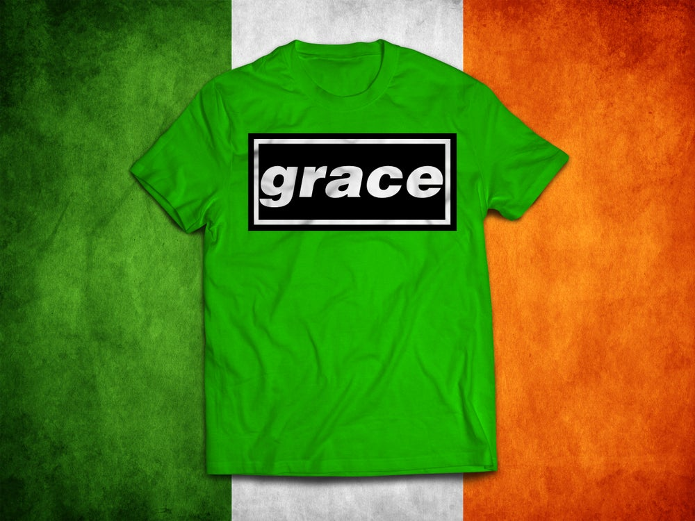 Image of Celtic 'Grace' Irish brand new t-shirts.