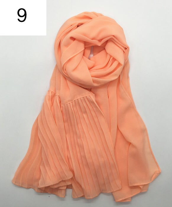 Image of FBC Exclusive Pleated Hijabs (Originally £7.99)