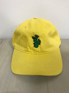 Image of Yellow Dad Hat - Prickly Pear Cactus