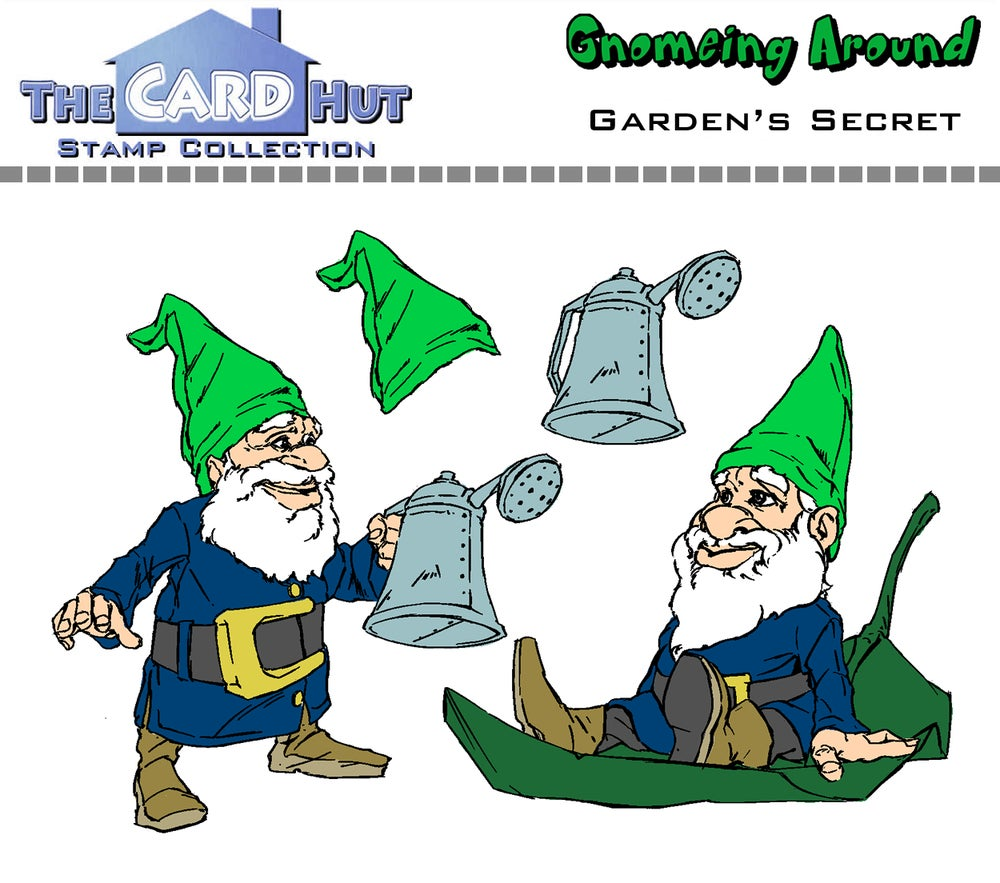 Image of Gnomeing Around: Full Stamp Collection