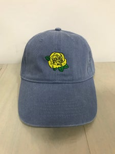 Image of Blue Dad Hat - Yellow Rose of Texas