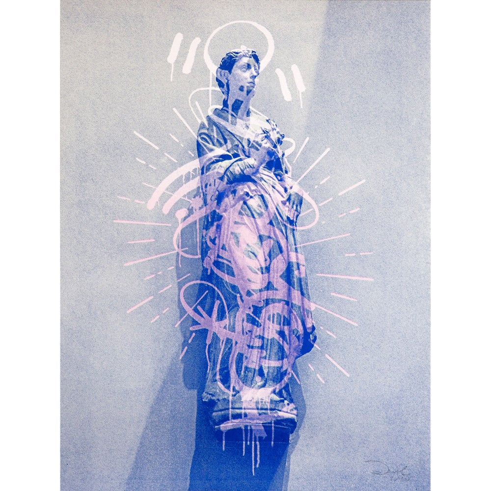 Image of Graffiti Halo (Blue)