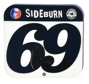 Image of Sideburn Perspex Race Number Plates