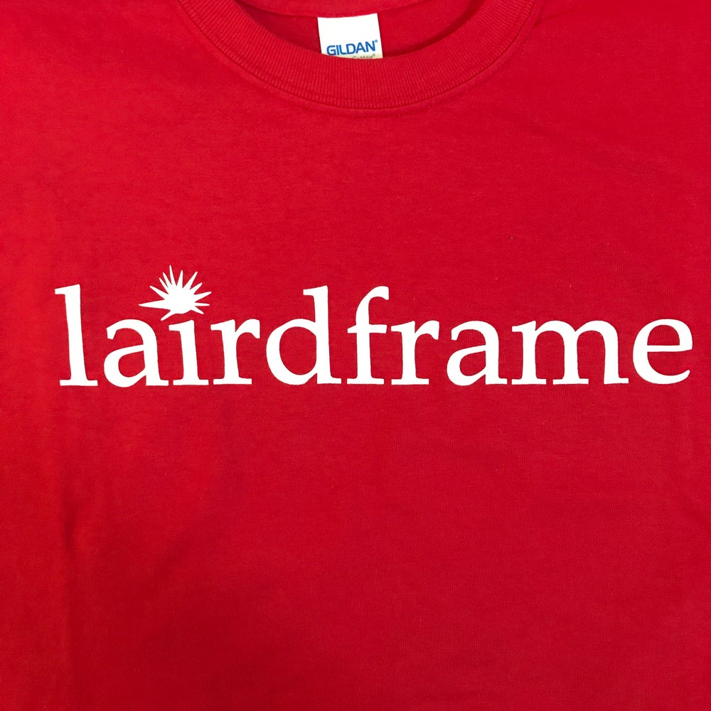 Image of TSHIRT- Red with White logo