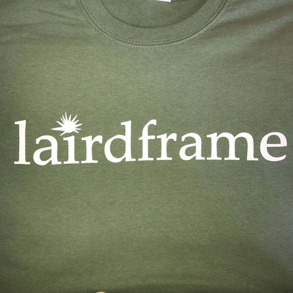 Image of TSHIRT- Army Green with White Logo