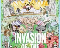 Image of Invasion of the Weirdos signed