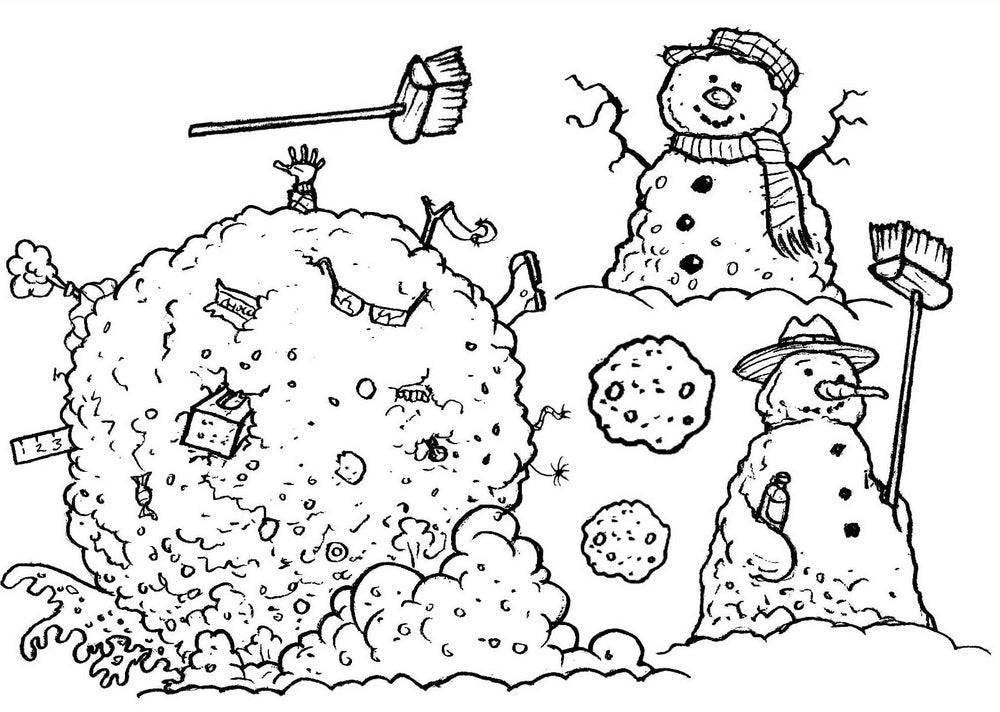 Image of Snowman Capers - Stamp set