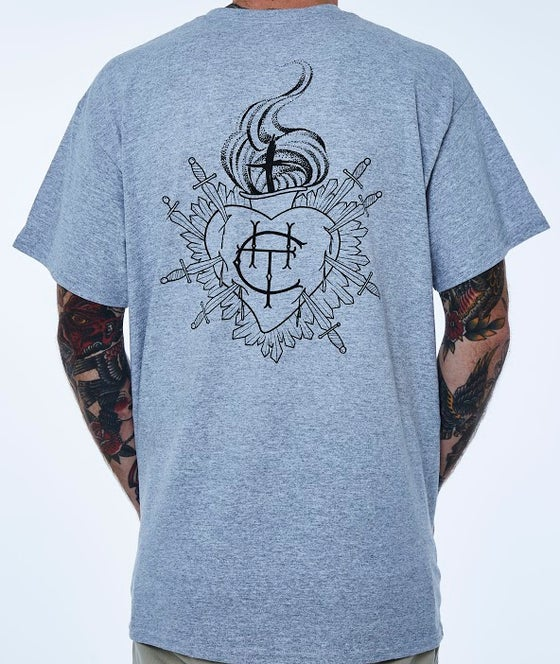 Image of College Hill Tattoo T-Shirts (grey)