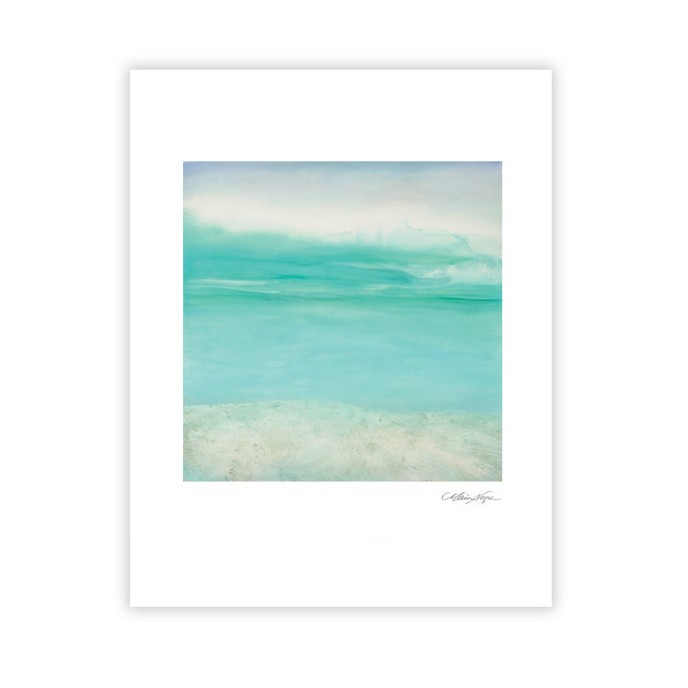 Image of Clouds and Sea, Archival Paper Print