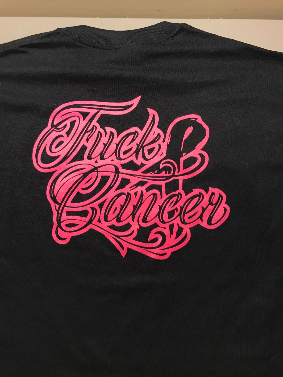Image of F#ck cancer t-shirt