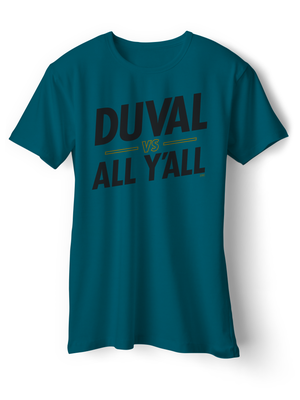 Image of Duval vs All Y'all - TEAL